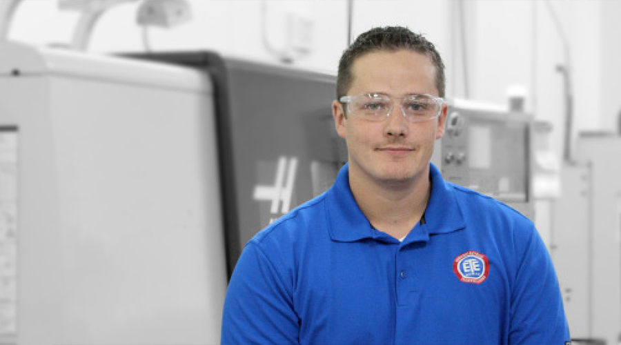 Meet Todd Giese, Machining Department Manager